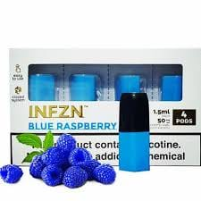 INFZN BLUE RASPBERRY PODS
