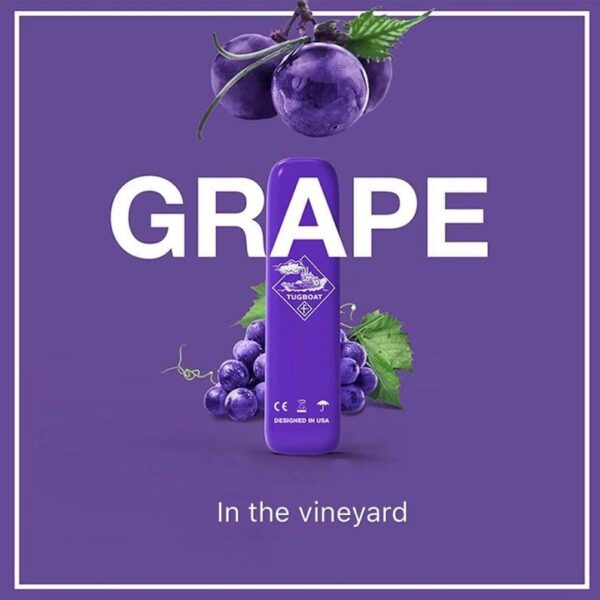 Grape TugBoat Disposable Vape kit