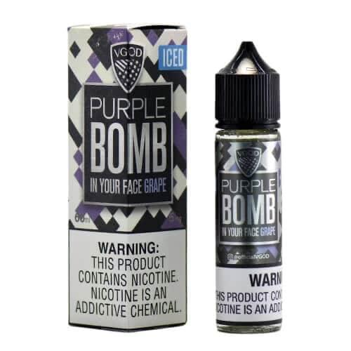 ICED PURPLE BOMB 60ML