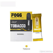 FOGG Vape Tobacco Disposable Pod