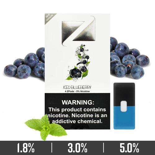 Iced Blueberry Ziip Pods