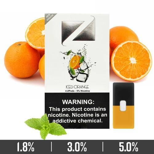 Iced Orange Ziip Pods
