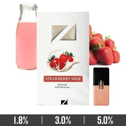 Strawberry Milk Ziip Pods