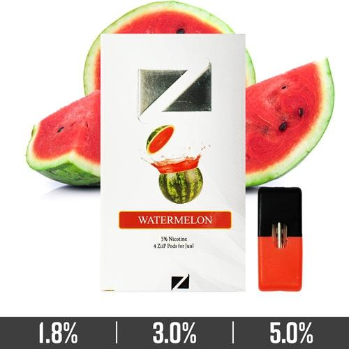 Watermelon Ziip Pods