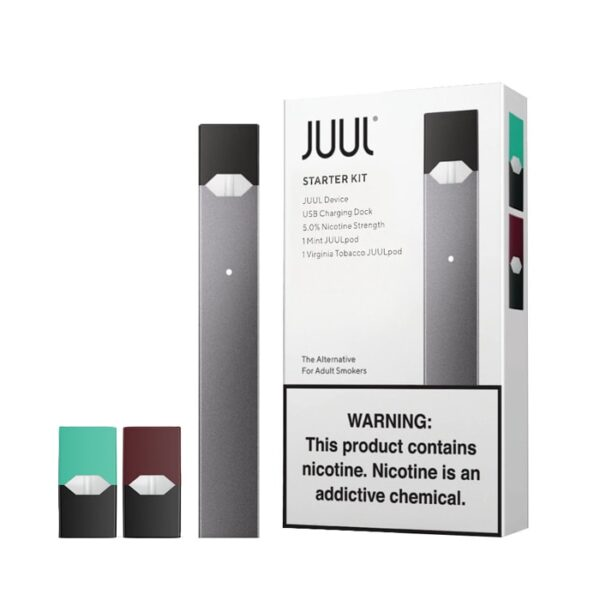 JUUL STARTER KIT WITHE 2 PODS