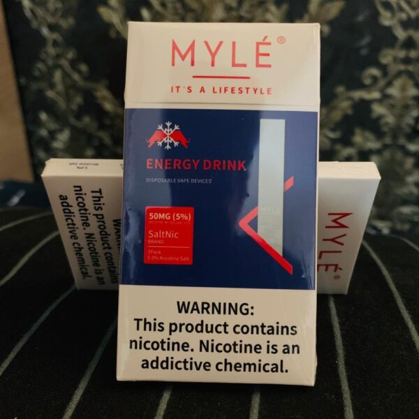 MYLE Disposable Pod (Energy Drink) in Dubai