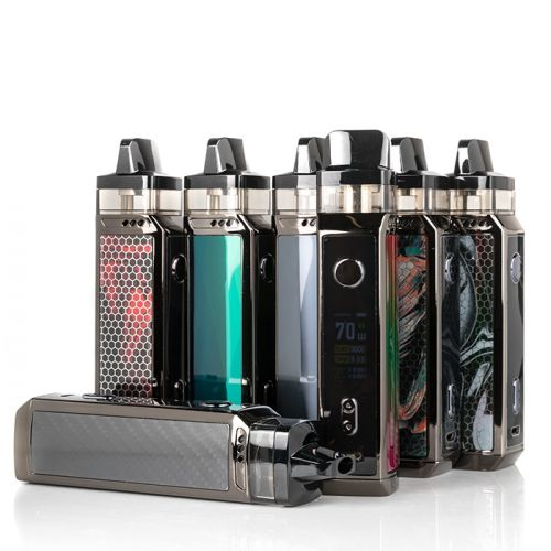 Presenting the VOOPOO VINCI X 70W Pod Mod System, conveying a ground-breaking single 18650 battery with cutting edge Gene.AI Chip, huge 0.96″ TFT Color, and using PnP Coil Series for MTL or DTL vape.