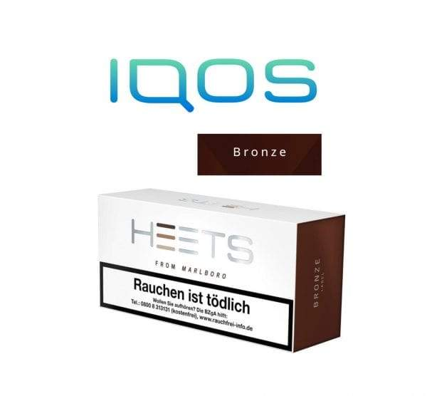IQOS HEETS Bronze Label – Original (20 Heatsticks / Pack)