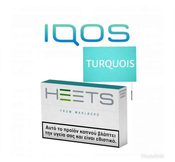 IQOS HEETS TURQUOIS LABEL