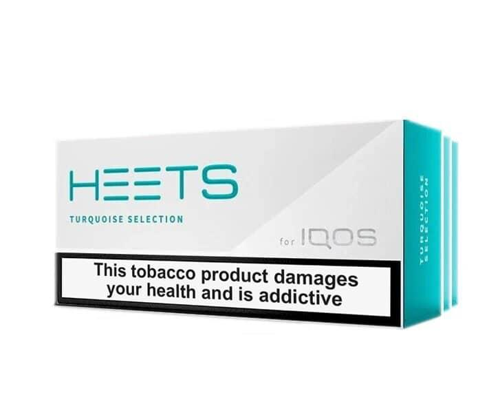 IQOS HEETS DUBAI TURQUOISE SELECTION (10pack) in Dubai