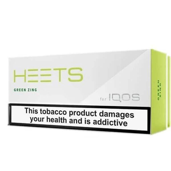 IQOS HEETS DUBAI GREEN ZING (10pack)