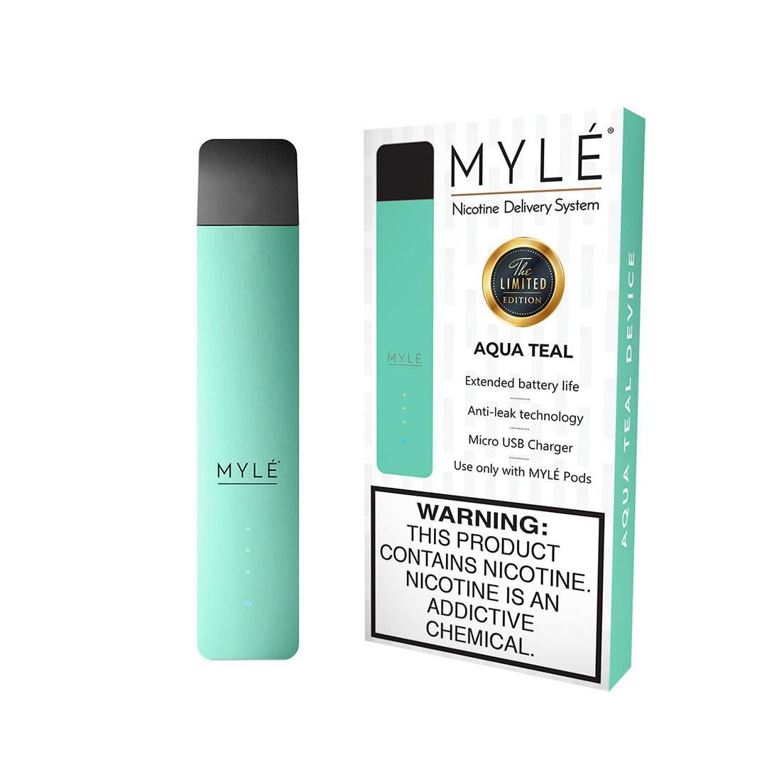 MYLÉ Aqua Teal Vape Device in Dubai/UAE