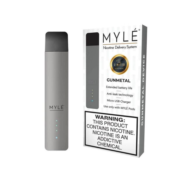MYLÉ GunMetal Vape Device in Dubai/UAE